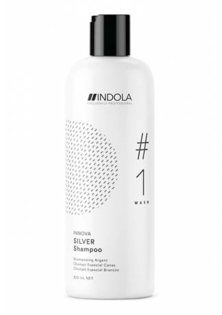 INDOLA PROFESSIONAL Нейтрализующий Шампунь для Волос с Содержанием Пурпурных Пигментов, 300 мл
