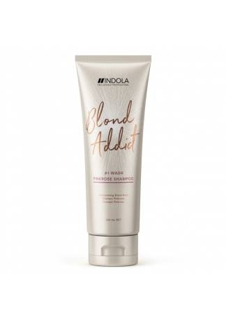 INDOLA PROFESSIONAL Оттеночный Шампунь Blond Addict Pinkrose, 250 мл