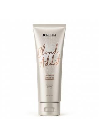 INDOLA PROFESSIONAL Шампунь для Всех Типов Волос Блонд Blond Addict, 250 мл шампунь блонд концепт
