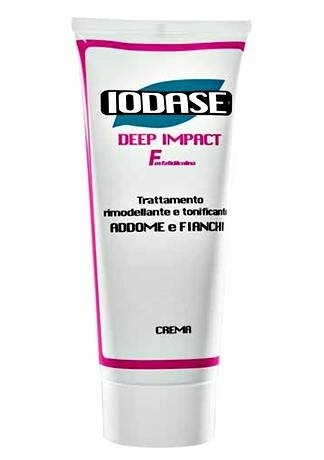 IODASE Крем для Тела Iodase Deep Impact  F  -Fosfatidilcolina-,  200 мл iodase крем против растяжек smagliature 220 мл