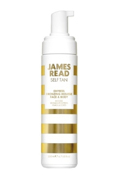 James Read Экспресс-Мусс Автозагар Express Bronzing Mousse Face and Body, 200 мл