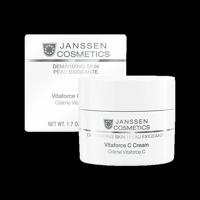 Janssen Крем Регенерирующий с Витамином С Vitaforce C Cream, 50 мл