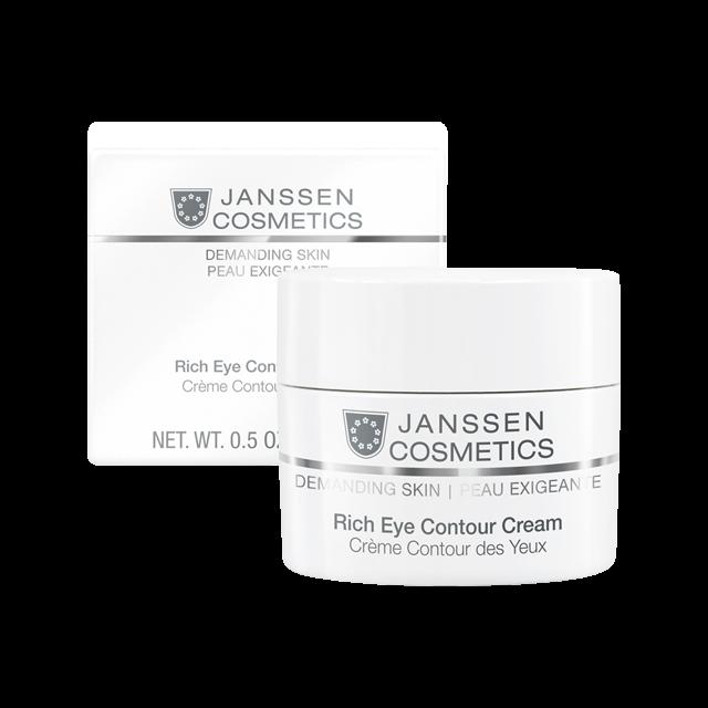 Janssen Rich Eye Contour Cream - Питательный Крем для Кожи Вокруг Глаз, 15 мл