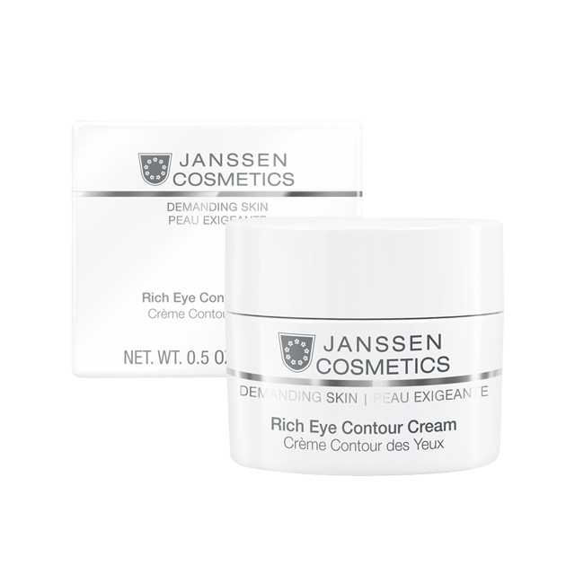 Janssen Rich Eye Contour Cream - Питательный Крем для Кожи Вокруг Глаз, 15 мл sesderma daeses eye and lip contour cream крем контур для глаз и губ 30 мл