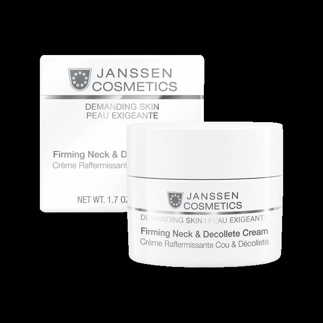 Janssen Firming Neck & Decollete Cream - Укрепляющий Крем для Кожи Лица, Шеи и Декольте, 50 мл janssen firming neck