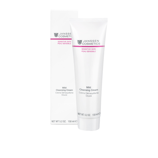 Janssen Крем Mild Cleansing Cream Деликатный Очищающий, 150 мл крем lumene kirkas radiance boosting cleansing cream 150 мл