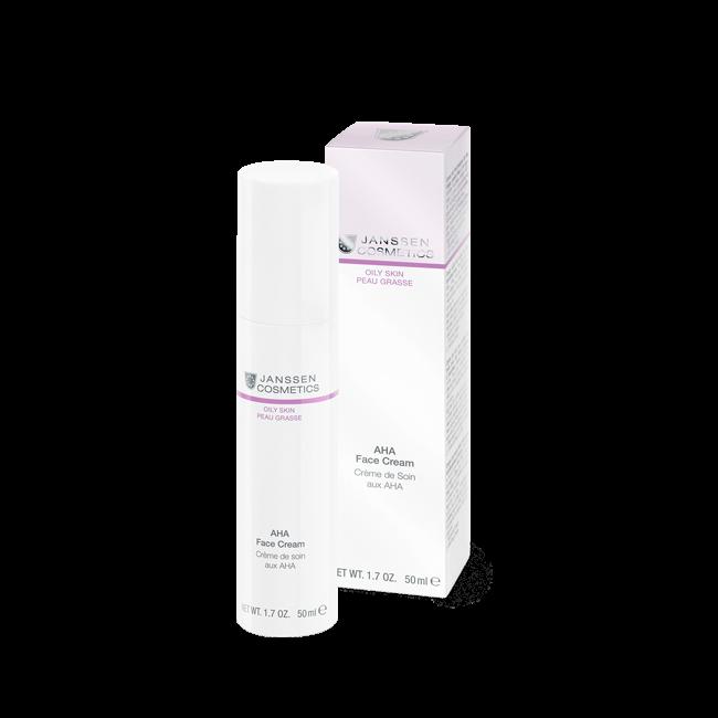цены Janssen Крем с Фруктовыми Кислотами AHA Face Cream, 50 мл