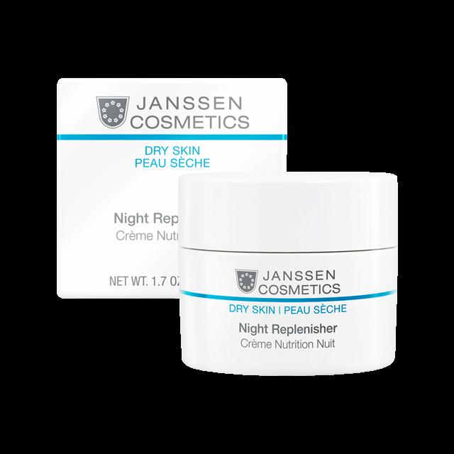Janssen Night Replenisher - Питательный Ночной Регенерирующий Крем, 50 мл