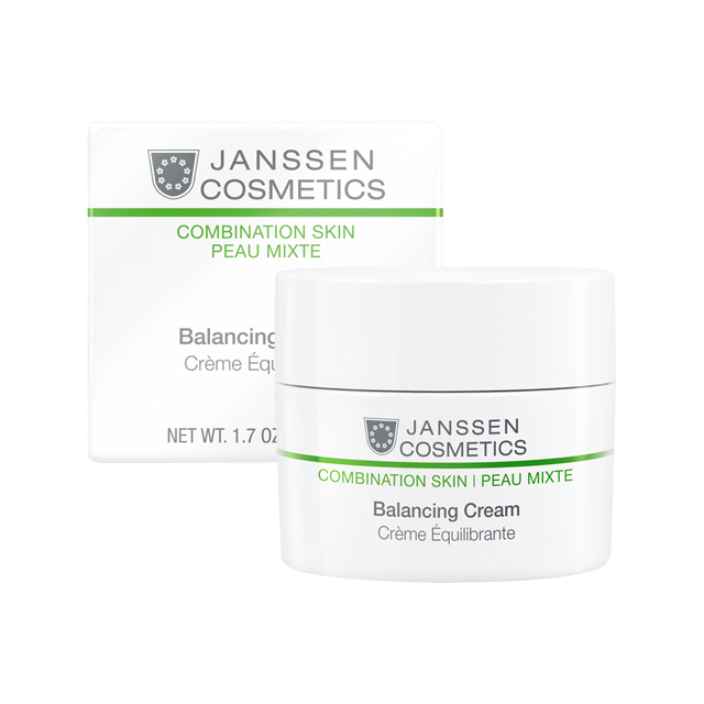 Janssen Balancing Cream - Балансирующий Крем, 50 мл janssen optimal tinted complexion cream отзывы