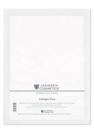 Janssen Collagen Pure Коллаген Чистый (1 Белый Лист) janssen коллаген для век белые бобы collagen eye lid mask bean
