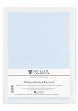 Janssen Collagen Allantoin-Panthenol Коллаген с Аллантоином и Пантенолом (1 Голубой Лист) janssen коллаген для век белые бобы collagen eye lid mask bean
