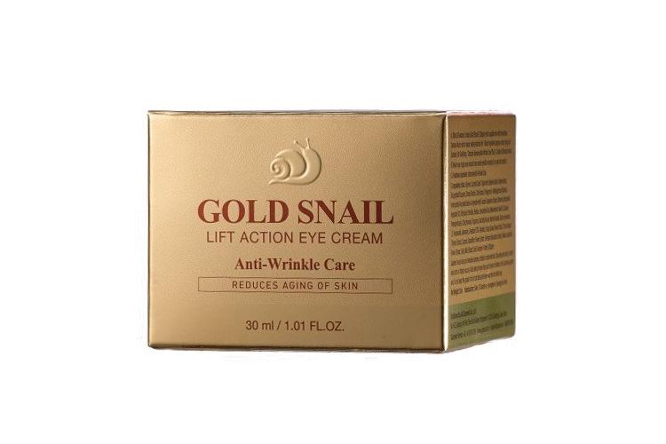 J&G Cosmetics Крем для Глаз Gold Snail Eye Cream, 30 мл