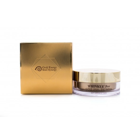 J&G Cosmetics Патчи для Глаз GOLD SNAIL EYE PATCH, 60 шт