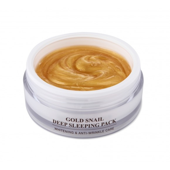 J&G Cosmetics Маска Ночная GOLD SNAIL SLEEPING PACK, 100г