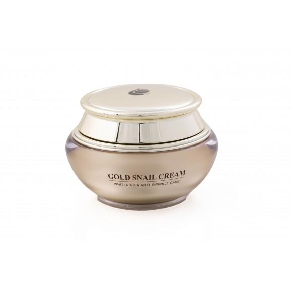 J&G Cosmetics Крем GOLD SNAIL CREAM, 50г snail крем