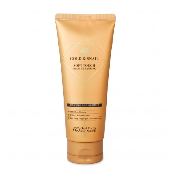 J&G Cosmetics Пенка Очищающая GOLD SNAIL FOAM CLEANSING, 170г