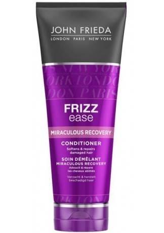 John Frieda Кондиционер для Укрепления Непослушных Волос Frizz Ease Miraculous Recovery, 250 мл frizz ease выпрямляющий моделирующий спрей для волос длительного действия 100 мл