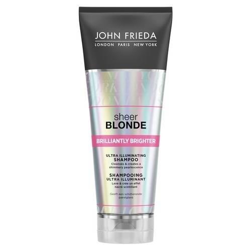 John Frieda Шампунь для Придания Блеска Светлым Волосам Sheer Blonde Brilliantly Brighter, 250 мл недорого