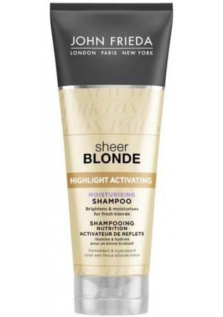 John Frieda Шампунь для Светлых Волос Sheer Blonde, 250 мл paul mitchell бессульфатный шампунь для светлых волос forever blonde shampoo 250 мл
