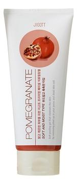 JIGOTT Гель Premium Facial Pomegranate Peeling Gel с Экстрактом Граната, 180 мл jigott гель premium facial rice bran peeling gel мягкий с рисовыми отрубями 180 мл