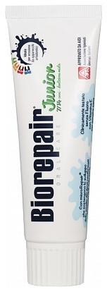 BIOREPAIR Junior Mint Детская Зубная Паста с Витамином Е и Ароматом  Мяты (7-14), 75 мл