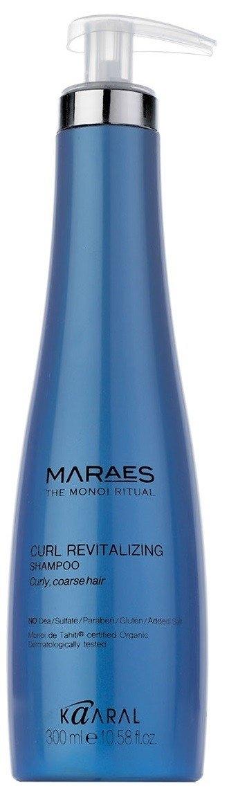 Kaaral Шампунь Curl Revitalizing Shampoo Восстанавливающий для Вьющихся Волос, 300 мл chi luxury black seed oil curl defining cream gel