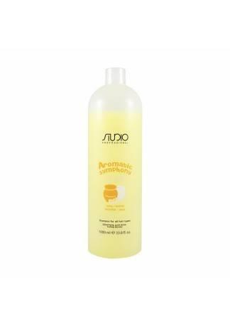 Kapous Studio Professional Шампунь для Всех Типов Волос Aromatic Symphony Молоко и Мёд, 1000 мл цена