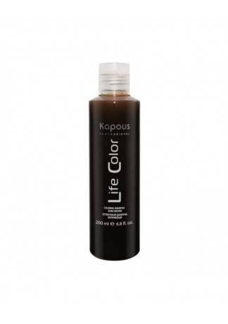 Kapous Шампунь Оттеночный для Волос Life Color Коричневый, 200 мл