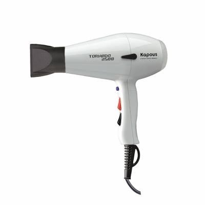 Kapous Фен Профессиональный для Укладки Волос Tornado 2500 Белый