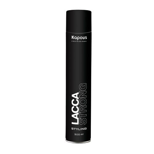 Kapous Лак Аэрозольный для Волос Сильной Фиксации KAPOUS STYLING LACCA STRONG, 500 мл лак kapous professional strong hair spray