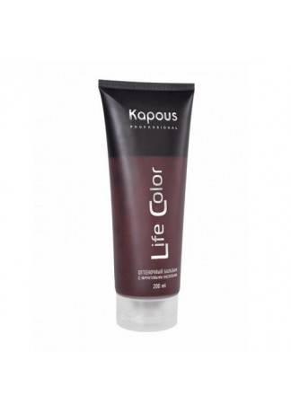 Kapous Бальзам Оттеночный для Волос Life Color Коричневый, 200 мл недорого