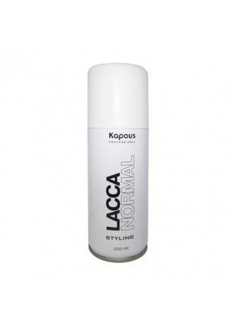 Kapous Лак Аэрозольный для Волос Нормальной Фиксации KAPOUS STYLING LACCA NORMAL, 100 мл