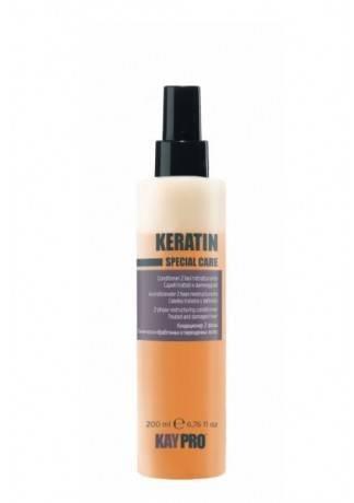 KAYPRO Восстанавливающий Кондиционер с Кератином, 200 мл shot восстанавливающий спрей с кератином 150 мл продукт со специфичным запахом