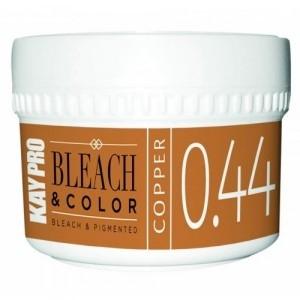 Фото - KAYPRO Паста Bleach Color Обесцвечивающая Пигментированная 0.44 Медь, 70 мл faux pearl frayed bleach wash denim jacket