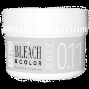 Фото - KAYPRO Паста Bleach Color Обесцвечивающая Пигментированная 0.11 Серый, 70 мл faux pearl frayed bleach wash denim jacket