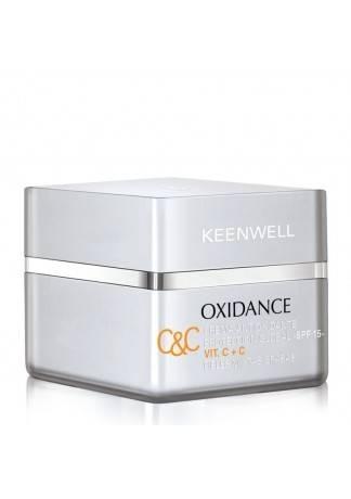 Keenwell Антиоксидантный Защитный Крем Глобал СЗФ 15 OXIDANCE, 50 мл keenwell крем для восстановления упругости кожи с сзф 15 дневной densilift 50 мл
