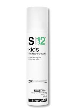 Napura Kids S3.12 Детский Шампунь, Гель для Душа, 200 мл napura stamigen s00 шампунь активатор 200 мл