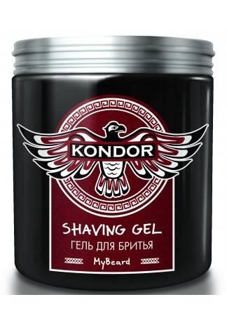 цена KONDOR KONDOR My Beard Гель для бритья, 250 мл