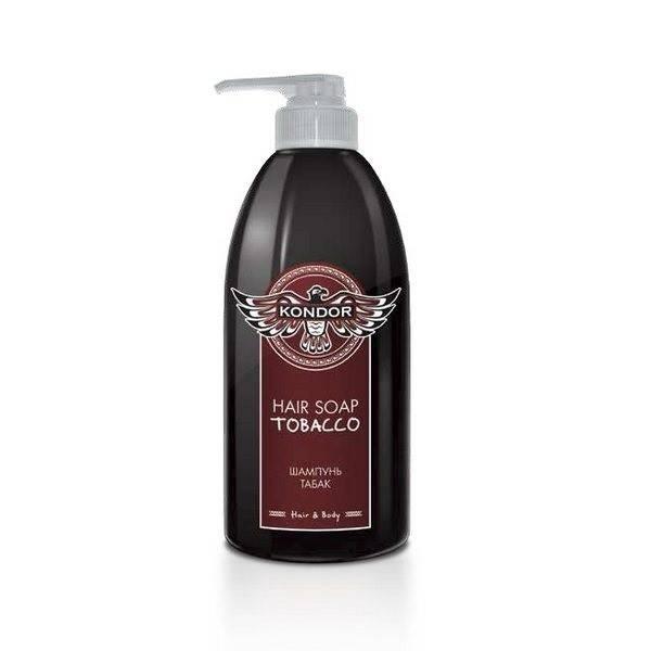 KONDOR KONDOR Hair&Body Шампунь Табак, 750 мл kondor hair and body hair soap tobacco шампунь для мужчин универсальный с табаком 750 мл