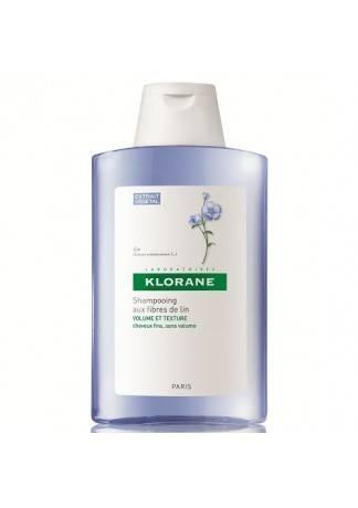 Klorane Шампунь с Экстрактом Льняного Волокна, 400 мл где купить шампунь klorane
