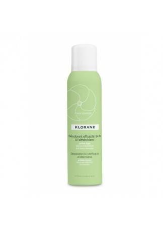 Klorane Дезодорант Спрей с Белым Алтеем 24 Часа Эффективности, 125 мл femfresh дезодорант спрей для интимной гигиены фемфреш 125 мл