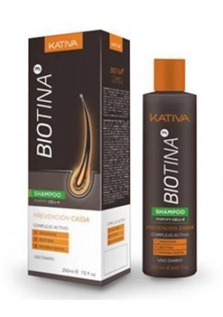 Kativa Шампунь Против Выпадения Волос с Биотином Biotina, 250 мл