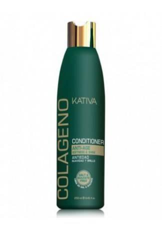 Kativa Коллагеновый Восстанавливающий Кондиционер для Всех Типов Волос Collageno, 250 мл kativa collageno conditioner кондиционер для волос восстанавливающий с коллагеном 500 мл