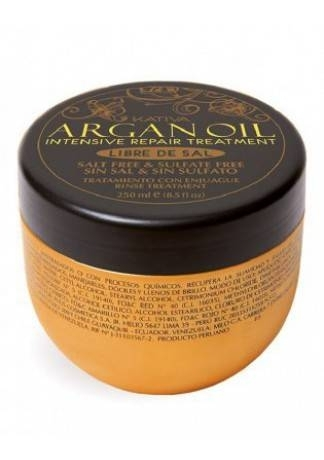Kativa Маска Argan Oil Интенсивно Восстанавливающая Увлажняющая для Волос с Маслом Арганы, 250г