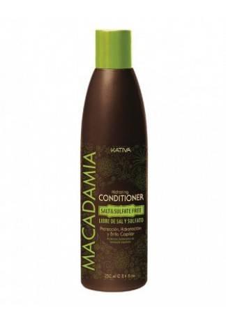 Kativa Увлажняющий Кондиционер для Нормальных и Поврежденных Волос Macadamia , 250 мл недорого