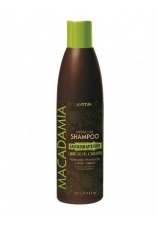 Kativa Увлажняющий Шампунь для Нормальных и Поврежденных Волос Macadamia, 250 мл