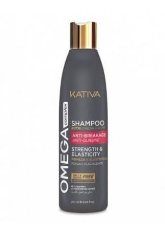 Kativa Антистрессовый Кондиционер для Поврежденных Волос Omega Complex, 250 мл