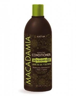 Kativa Увлажняющий Кондиционер для Нормальных и Поврежденных Волос, 500 мл интенсивно увлажняющий кондиционер kativa для нормальных и поврежденных волос macadamia 1000мл