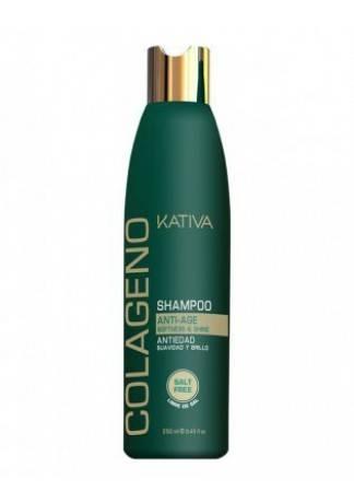 Kativa Коллагеновый Восстанавливающий Шампунь для Всех Типов Волос, 250 мл kativa коллагеновый восстанавливающий шампунь для всех типов волос 500 мл