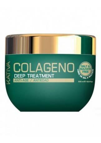 Kativa Интенсивный Коллагеновый Уход для Всех Типов Волос, 500 мл kativa коллагеновый восстанавливающий шампунь для всех типов волос 500 мл